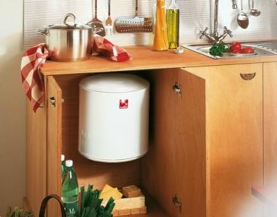 ATLANTIC OPRO Small Pojemnościowy ogrzewacz wod 10l nadumywalkowy [PC10RB]