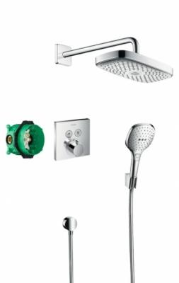 HANSGROHE Podtynkowy zestaw prysznicowy Raindance Select E/ ShowerSelect E